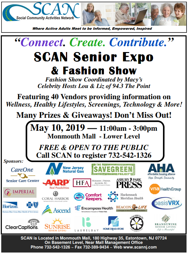 2019 senior expo flyer - SAVE THE DATE