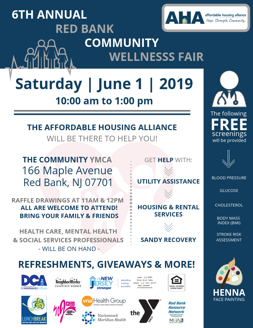 Red Bank Community Wellness Fair - 2019