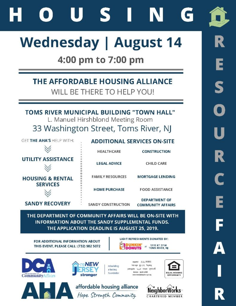 Affordable Housing Alliance - Hope  Strength  Community