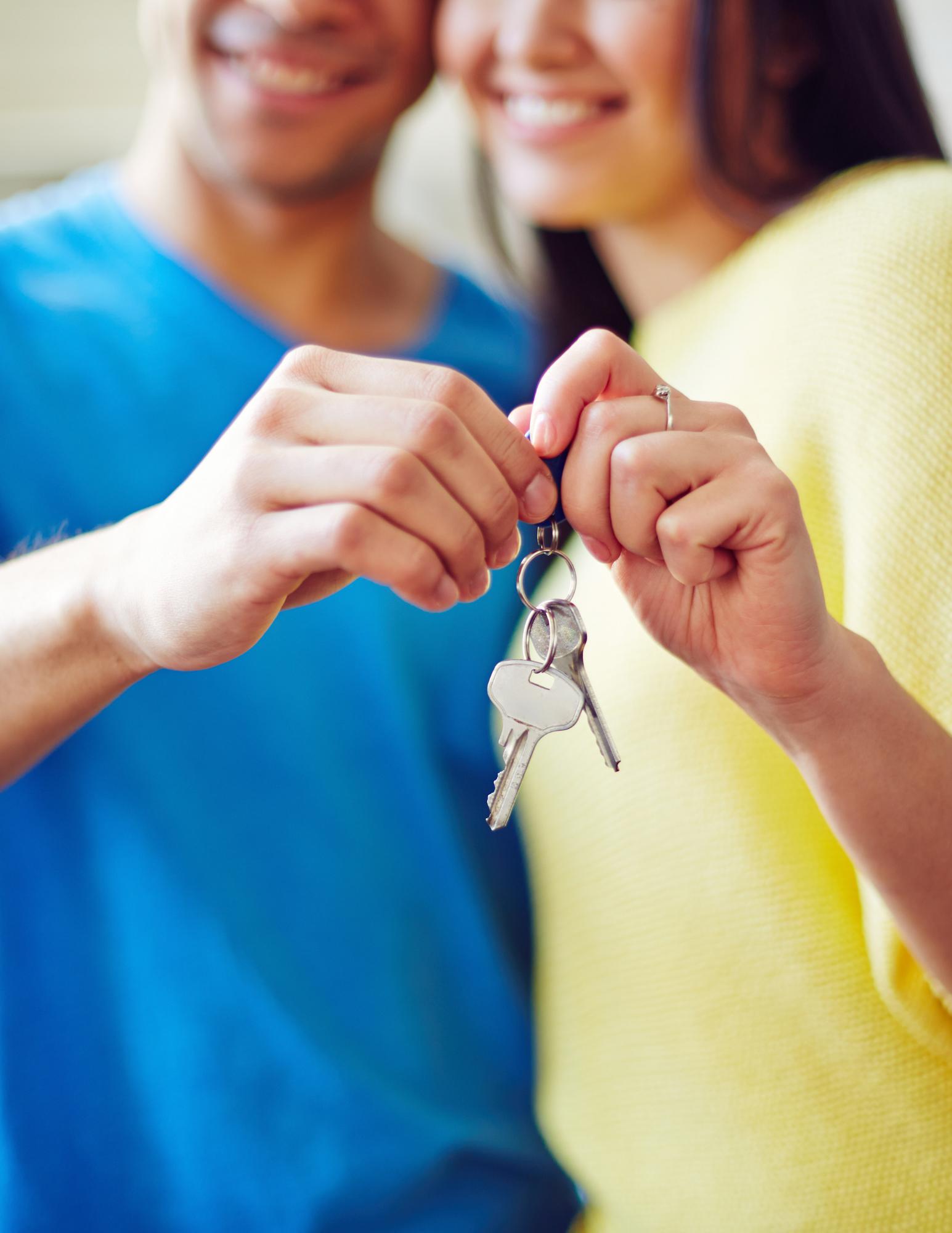 Representative Image of New Homeowners.
